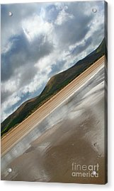 Breaking Through Ireland Acrylic Print by Jo Collins