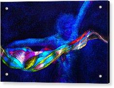 Breaking Through Acrylic Print by Jane Schnetlage