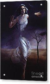 Breaking Through Acrylic Print by Jane Whiting Chrzanoska