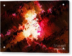 Acrylic Print featuring the digital art Breaking Through by Lon Chaffin