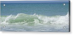 Breaking Waves Acrylic Print by Jeanne Forsythe