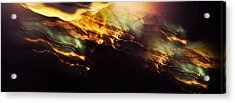 Breakthrough. Empowered By Light Acrylic Print by Jenny Rainbow