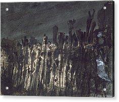 Breakwater In Jersey Acrylic Print