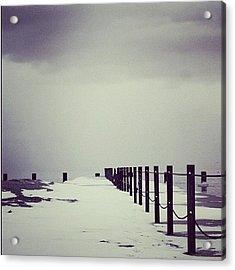 Breakwater Acrylic Print
