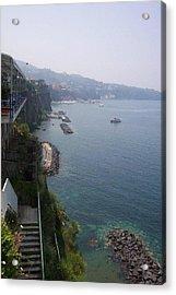 Breathtaking Amalfi Coast In Italy Acrylic Print