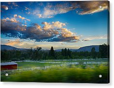 Breathtaking Colorado Sunset 1 Acrylic Print