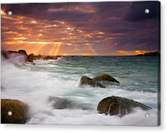 Breathtaking Acrylic Print by Mike  Dawson