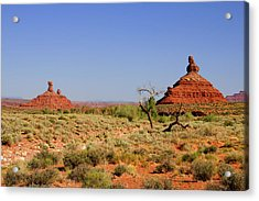 Breathtaking Valley Of The Gods Acrylic Print by Christine Till