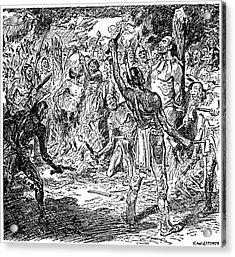Brebeuf & Lalemant, 1649 Acrylic Print