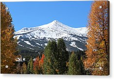 Breckenridge Colorado Acrylic Print