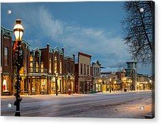 Breckenridge Main Street Acrylic Print