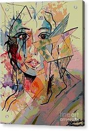 Bree Acrylic Print by Denise Tomasura