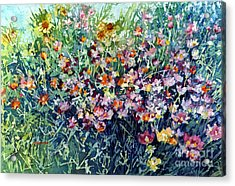 Breeze And Daydream Acrylic Print by Hailey E Herrera