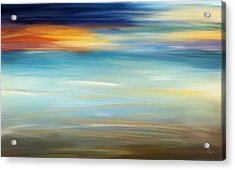 Breeze-seascapes Abstract Art Acrylic Print by Lourry Legarde