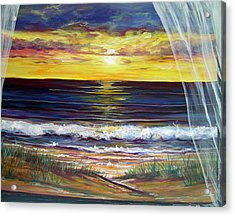 Breezy May Acrylic Print by Dawn Gray Moraga