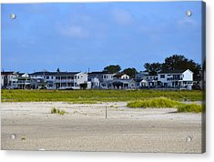 Breezy Point As Seen From Beach August 2012 Acrylic Print
