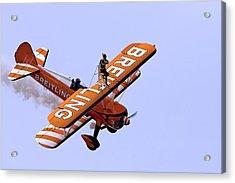 Breitling Wingwalker Acrylic Print