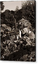 Bren Acrylic Print by Jason Green