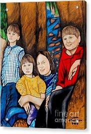 Brenda's Kids Acrylic Print