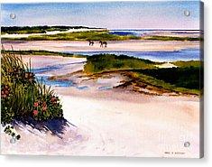 Brewster Ebb Tide Acrylic Print by Karol Wyckoff