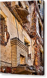 Acrylic Print featuring the photograph Brick And Mortar by Lawrence Burry
