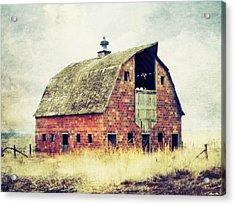 Brick Barn  Acrylic Print by Julie Hamilton