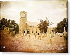 Brick Church In Montgomery Acrylic Print