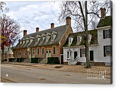 Brick House Tavern In Williamsburg Acrylic Print by Olivier Le Queinec