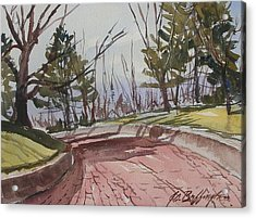 Brick Road Acrylic Print