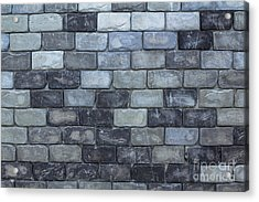 Brick Wall Background Or Texture  Acrylic Print by Tosporn Preede
