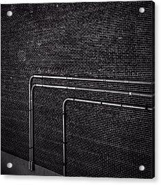 Brick Wall Acrylic Print by Bob Orsillo