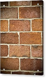 Brick Wall Acrylic Print by Frank Tschakert