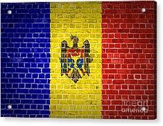 Brick Wall Moldova Acrylic Print