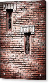 Brick Work Acrylic Print by Melanie Lankford Photography