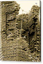 Bricks Acrylic Print by Azthet Photography