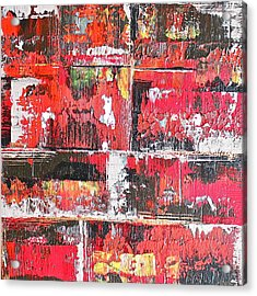 Bricks Acrylic Print by Izabela Bienko