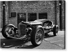 Brickyard Buick Acrylic Print by Peter Chilelli