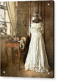 Bridal Trousseau Acrylic Print by William Beuther