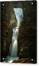Bridal Veil Falls Acrylic Print by Joe Hudspeth