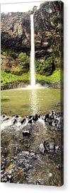 Bridal Veil Falls Acrylic Print by Les Cunliffe