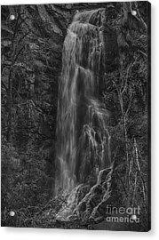 Bridal Veil Falls At Spearfish Canyon South Dakota Acrylic Print
