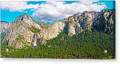 Bridalveil Fall From Old Big Oak Flat Road Acrylic Print