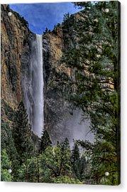 Bridalveil Falls Acrylic Print by Bill Gallagher