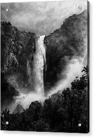 Bridalveil Falls Acrylic Print by Cat Connor