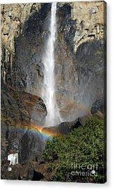 Bridalveil Falls No Sky Acrylic Print