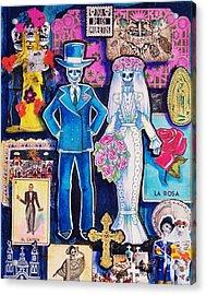 Bride And Groom Acrylic Print