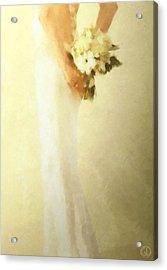 Bride Acrylic Print by Gun Legler