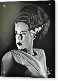 Bride Of Frankenstein Acrylic Print by Joe Dragt