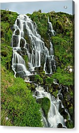 Bride's Veil Waterfall Acrylic Print by Stephen Taylor