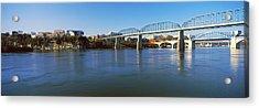 Bridge Across A River, Walnut Street Acrylic Print